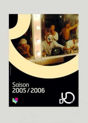 Saison 2005 - 2006 Proposition de charte graphique Logo et déclinaisons