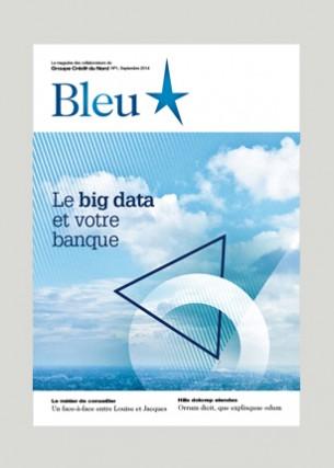 Conception graphique Directrice de création : Delphine Bommelaer / Agence Babel Éditeur : Crédit du Nord Volume : 16 pages Format : 210 x 300 mm Périodicité : trimestrielle Septembre 2014