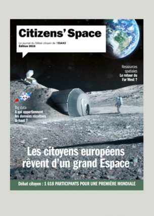Le journal du Débat citoyen de l'ESA (The European Space Agency