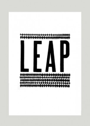Création de logo de la revue LEAP Éditeur : Les Édition À Peu Près  Volume : 36 pages Format : 280 x 380 mm Périodicité : annuelle 2013