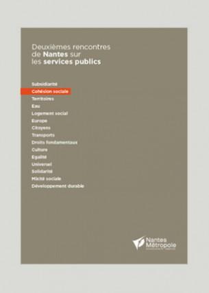 Deuxièmes rencontres de Nantes  sur les services publics Conception graphique Éditeur : Nantes Métropole Volume : 16 pages Format : 210 x 297 mm Périodicité : annuelle Juillet 2014