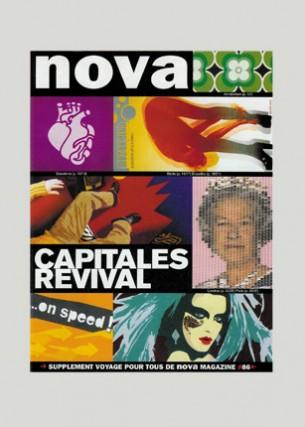 Conception graphique et direction artistique Éditeur : Nova Press Volume : 32 pages Format : 210 x 280 mm exemplaire unique Janvier 2001
