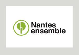 Création graphique du logo, des pictogrammes et des dessins, direction artistique et création graphique de tous les supports papier et web de la liste Nantes ensemble conduite par Julie Laernoes.